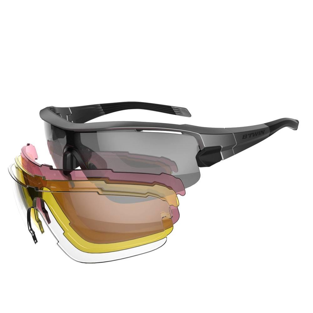 2df8c603e Óculos para ciclismo Road 900 com 4 lentes - DecathlonPro