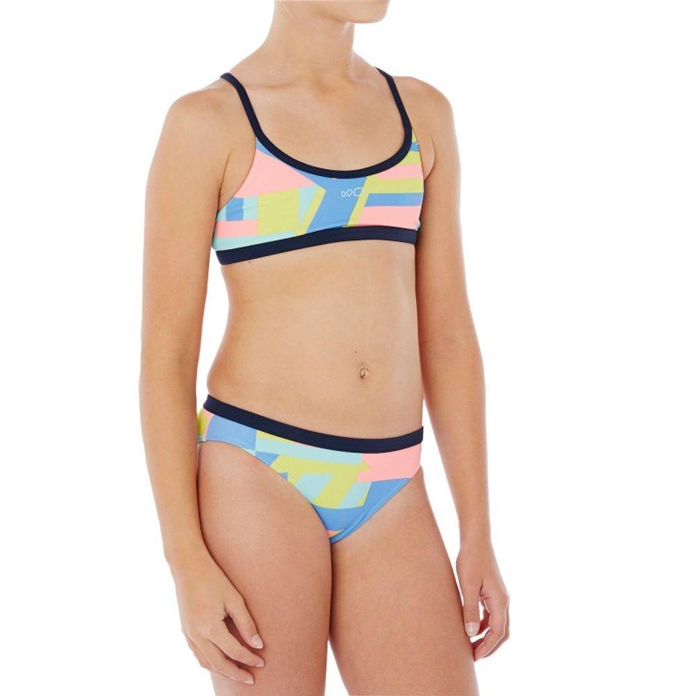Biquíni de natação Riana infantil Nabaiji - 2PG RIANA NUM PK   5696a68c27a51
