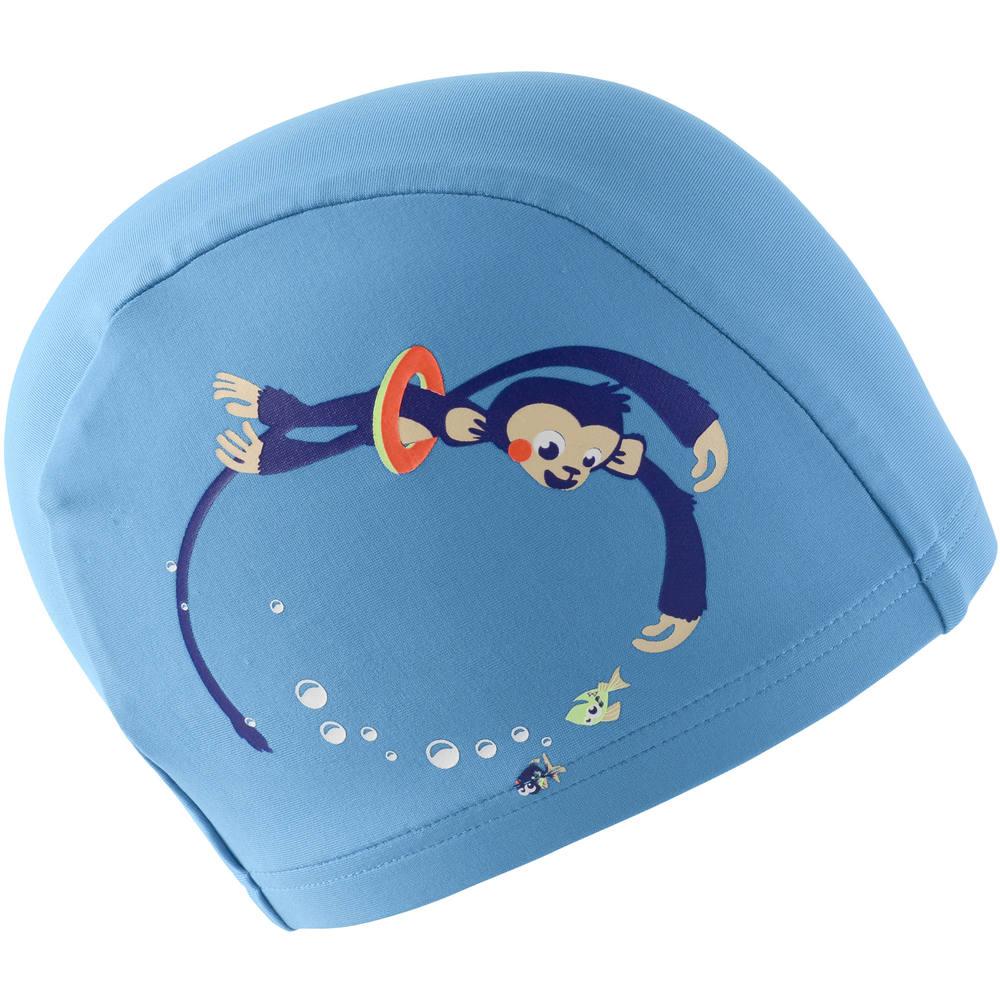 bd30995df0650 Touca de natação em malha nabaiji - MESH 150 SWIM CAP MONKEY BLUE