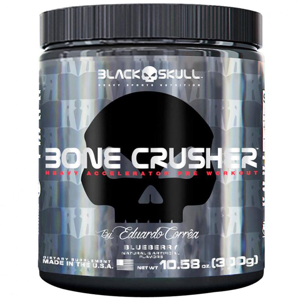 Pré-Treino - Bone Crusher Blueberry 300g - BONE CRUSHER 300G BLUEBERRY db52b303984