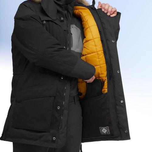 4ef2fa7d0 Casaco de Caminhada na Neve Homem SH500 ultra-warm Preto ...