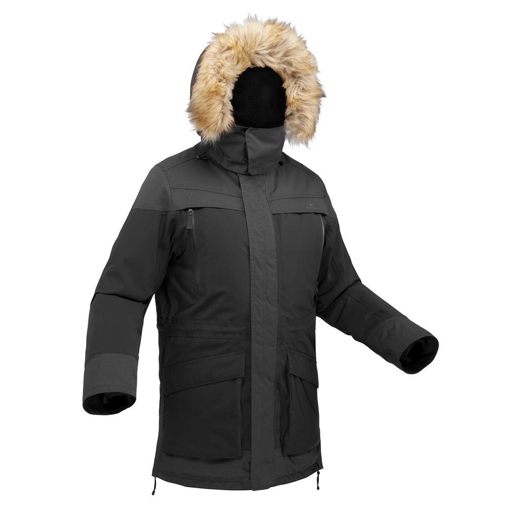 4579182d8 Mais imagens. Ref  8510106. Casaco de Caminhada na Neve Homem SH500 ultra-warm  Preto.