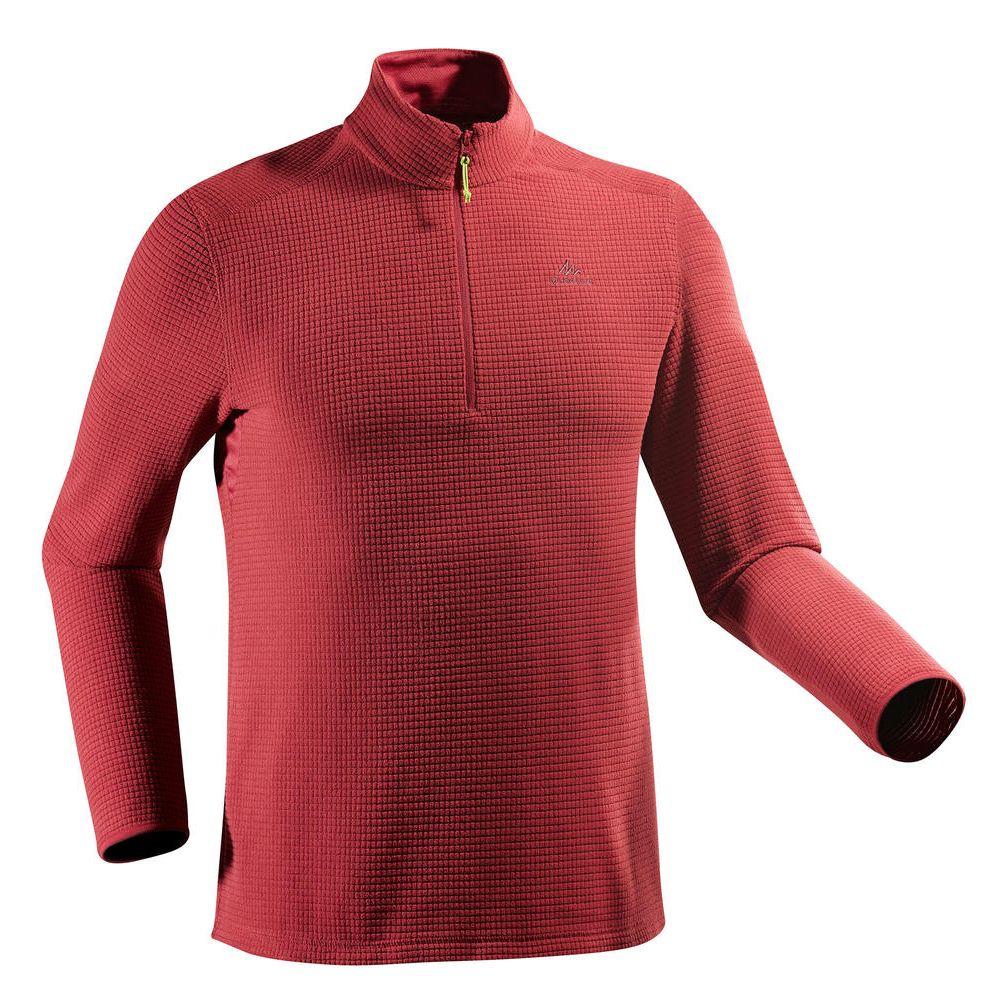 b0a8bd932a Blusa fleece masculina de trilha MH500 - Decathlon