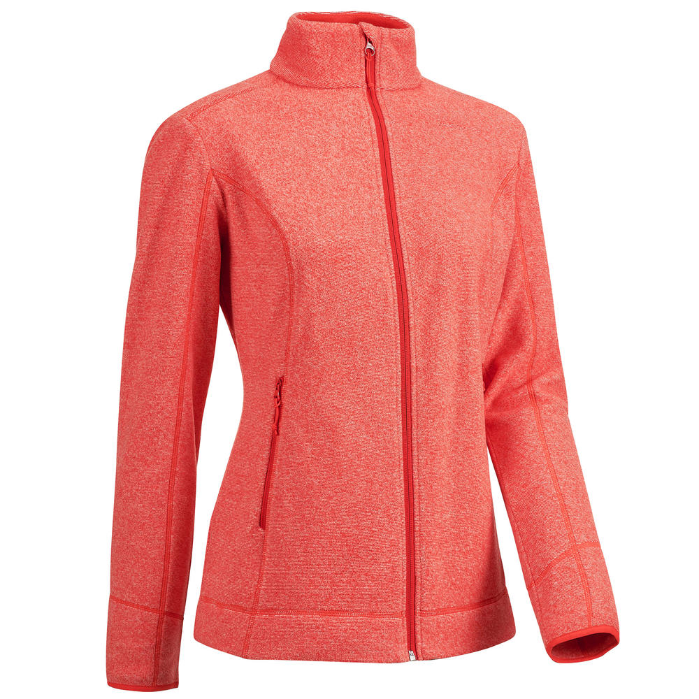 5fa71489df Blusa fleece feminina de trilha MH120. Blusa fleece feminina de trilha MH120