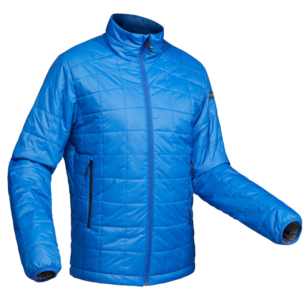 228219d6f Jaqueta masculina de trekking sem capuz Trek100 - DecathlonPro