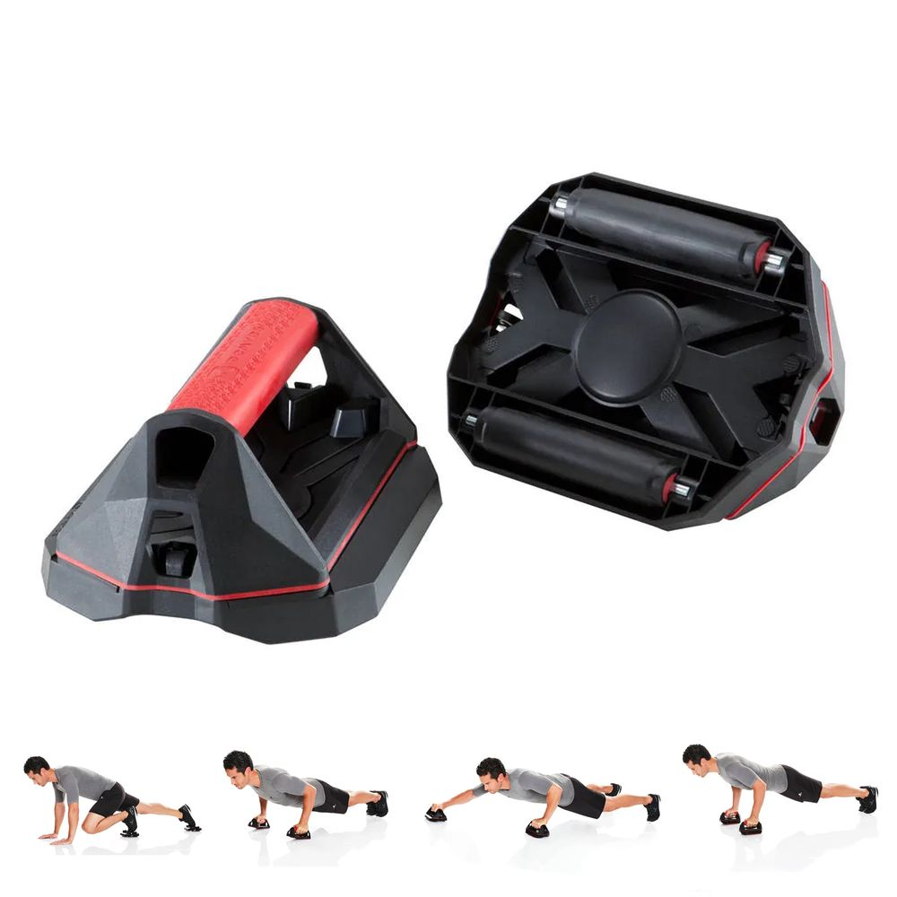 Push-Up 4 em 1 Conjunto para Exercícios Abdominais e Flexões Push Up Wheel  - PUSH UP WHEEL - DOMYOS 25a257c98ccfd