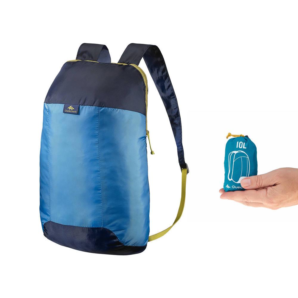 7c0fe443dbc Mochila de apoio ultra compact 10 litros Quechua - BAG A 10 ULTRA CPCT  BLUE