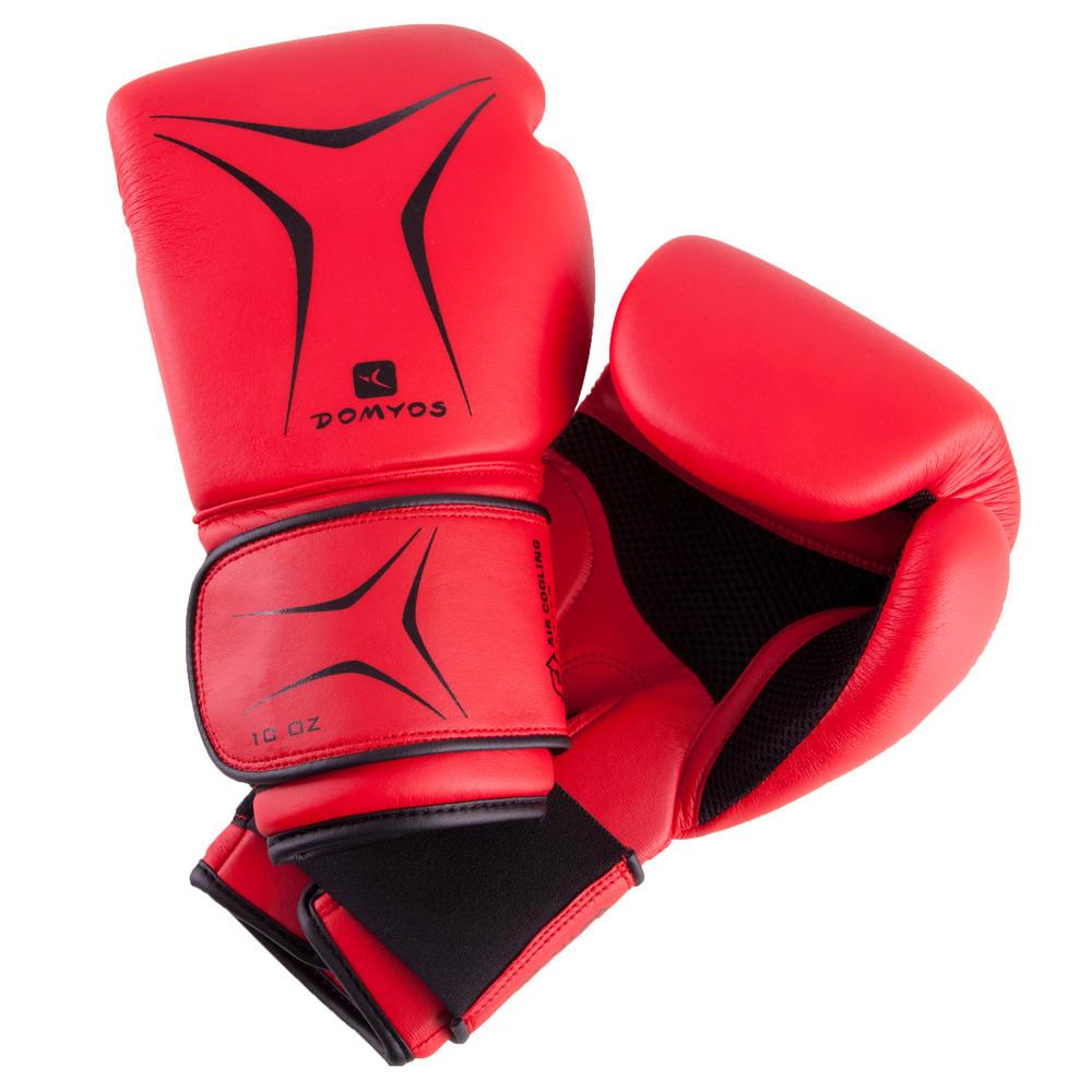 d0bef7283 Luvas de Boxe - FKT180 para Iniciação - Decathlon