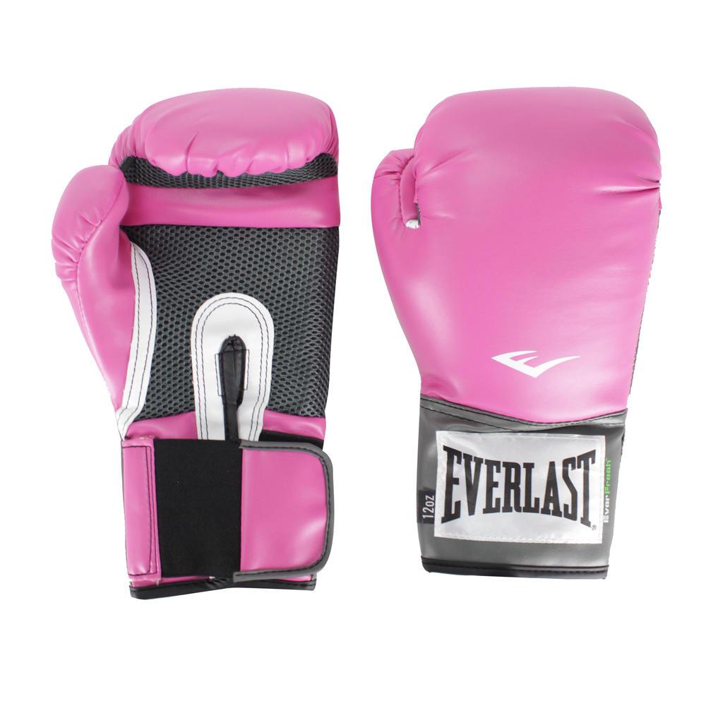 Luva de Boxe e Muay Thai Pro Style Rosa -  LUVA RS EVERLAST PRO STYLE 26283143493f9