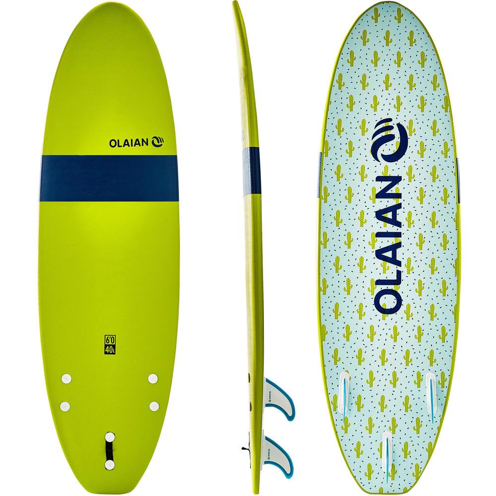 66e793610 Prancha de Surf infantil em espuma 100 6´ Tribord - DecathlonPro