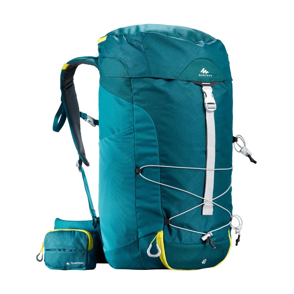 605837885 Mochila de trilha MH100 40 L Quechua - DecathlonPro