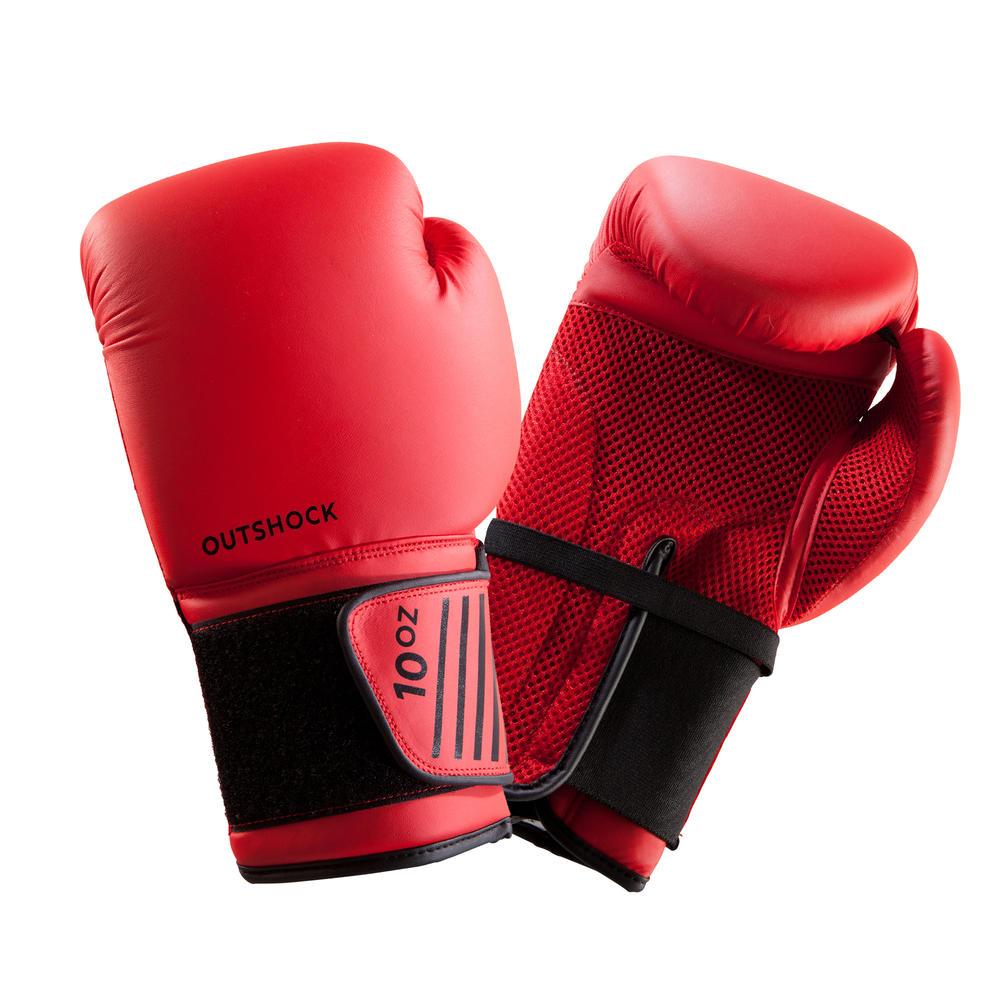 5e0a7d3e4 Luvas de Boxe 100 para iniciantes - Decathlon