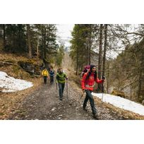 bd387cbf6 Jaqueta feminina de trekking Trek100 - DecathlonPro