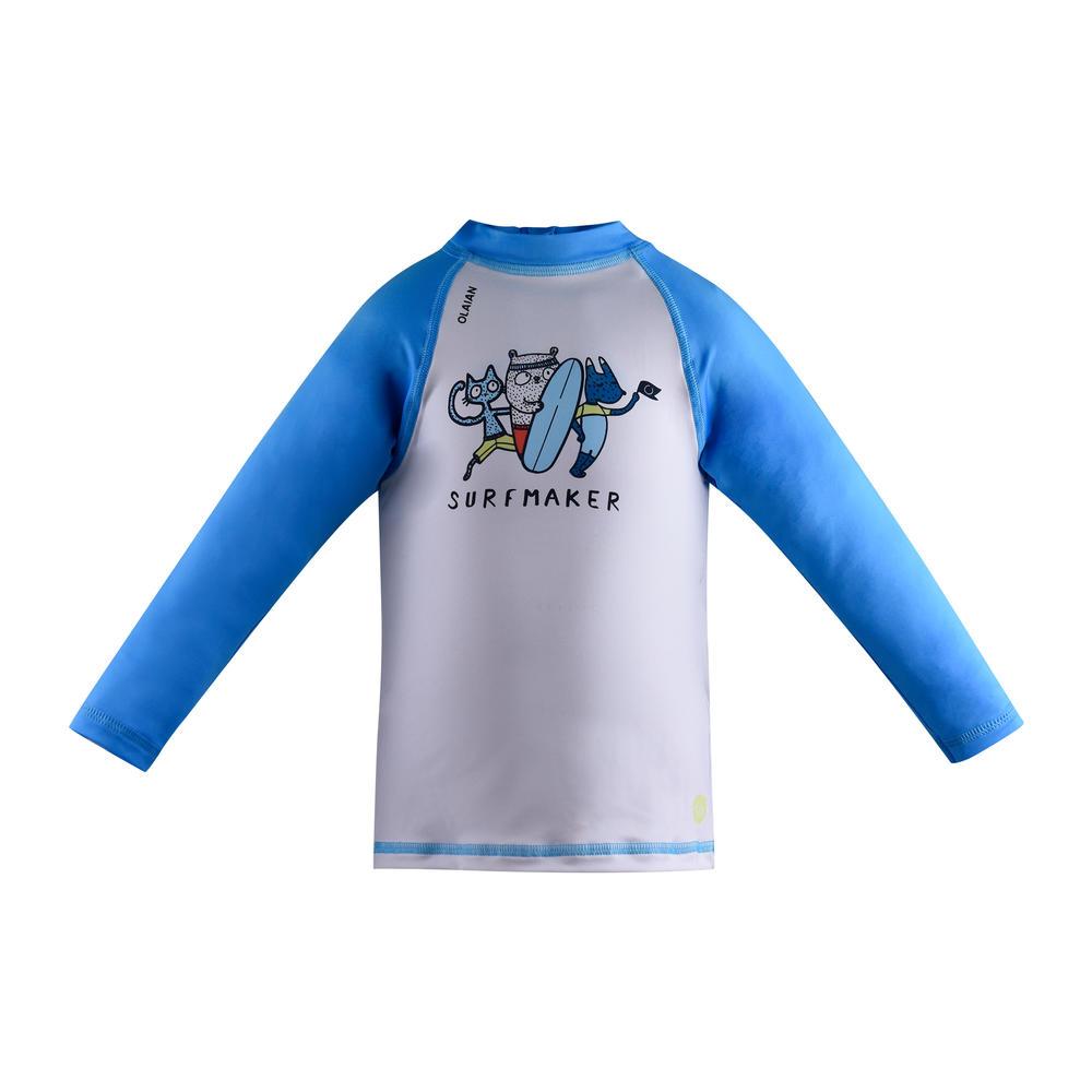 Camiseta com proteção solar anti-UV para Bebês -  TOP UV BABY ML SURFMAKER  PV1 838678c8036