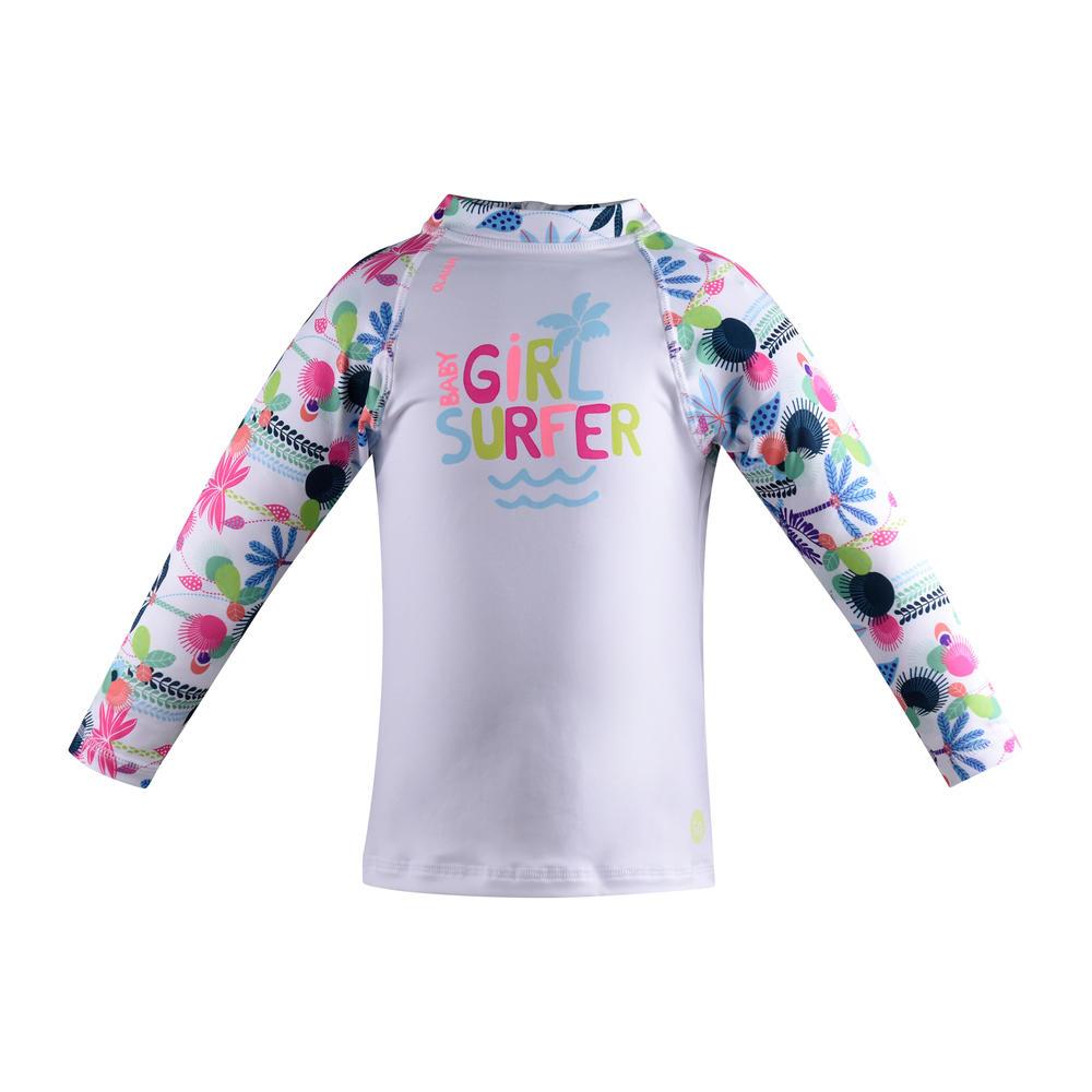 33462a3cd3 Camiseta com proteção solar anti-UV para Bebês - Decathlon