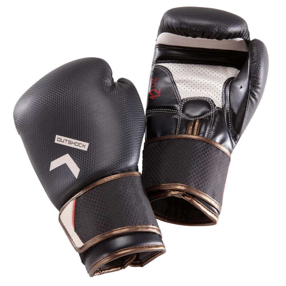 0bd19f2702 Luvas de Boxe e Muay Thai BG500 Carbon - BOXING GLOVES 500 CARBON