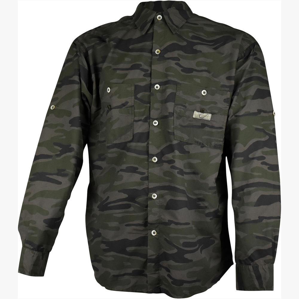 a71438f94 Camisa de pesca Camuflada Ballyhoo -  CSA CAMUFLADA MILITAR BALLYHOO 170