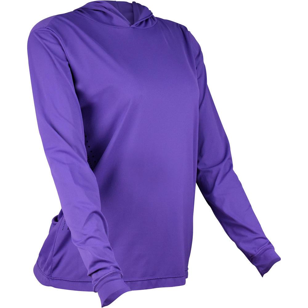 5406ae1f9 Camiseta de pesca Roxa c capuz Ballyhoo. Camiseta de pesca Roxa c capuz  Ballyhoo