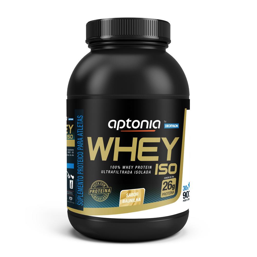 Whey Protein Isolado WPI - Iso Baunilha 900g 30 doses - Proteina ... 1776798eb9178