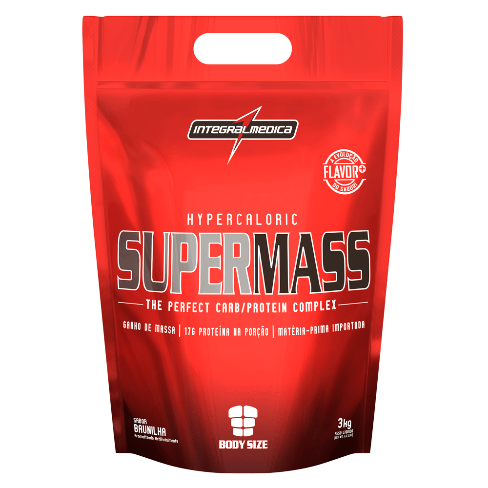 Hipercalórico - SuperMass Chocolate Refil 3kg - decathlonstore 62eb77c19b4c3