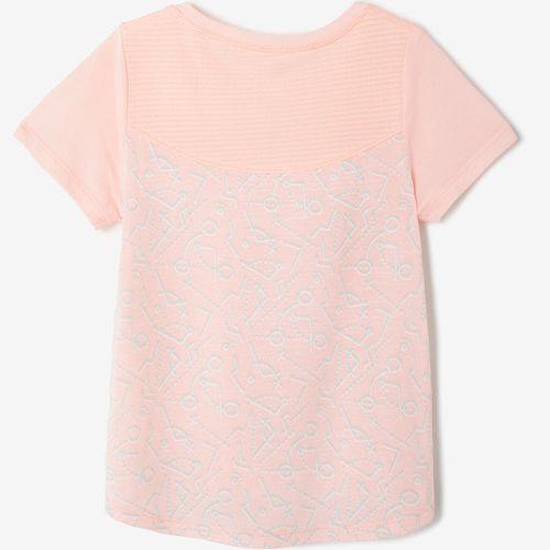 Camiseta feminina de Ginástica para Bebês 500 - decathlonstore 3b533e38d80