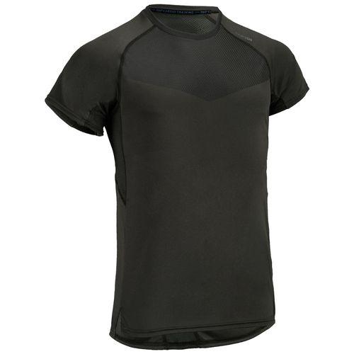 ff4bb1239b6fa Camiseta masculina de academia FTS 120 - decathlonstore