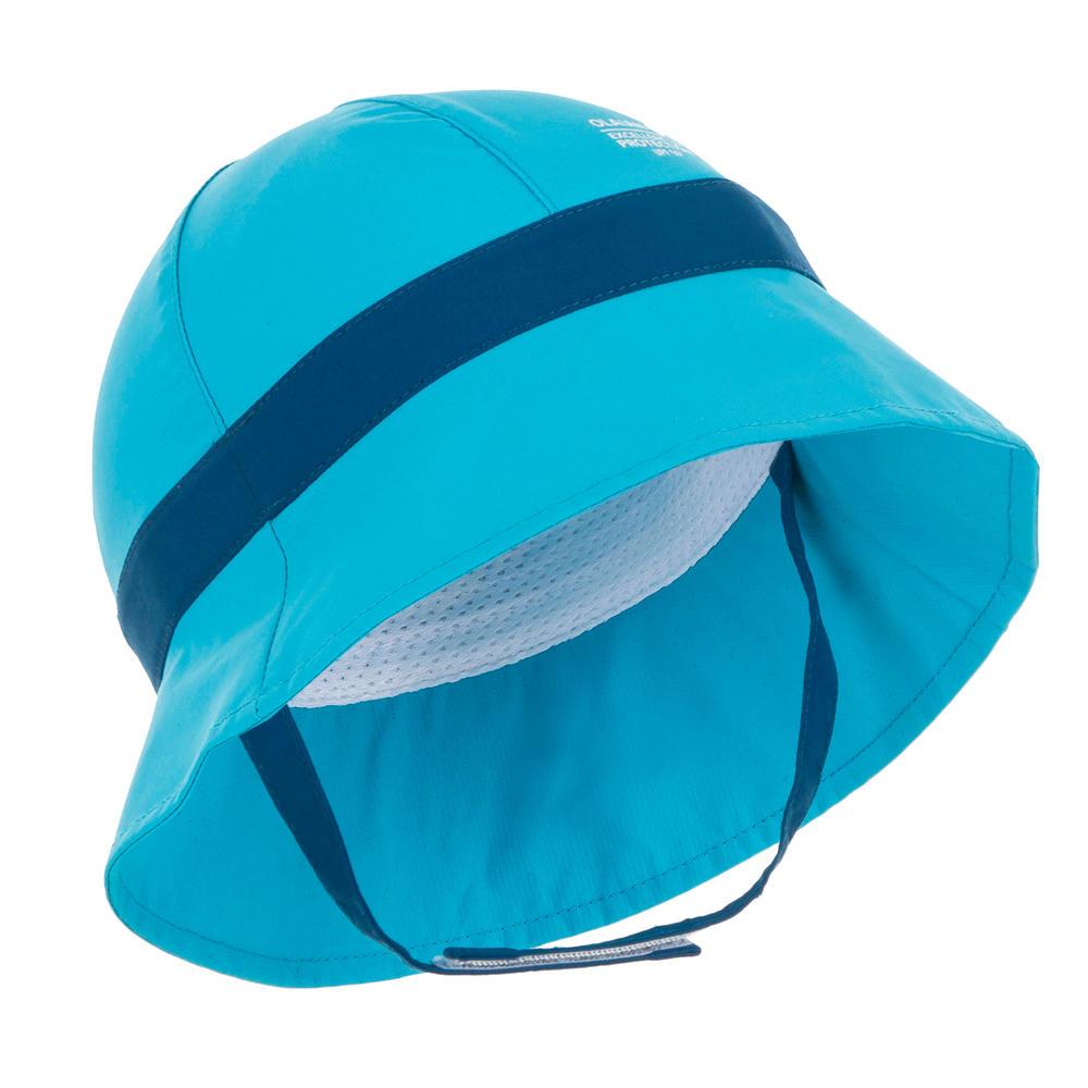 133aaac01fa1d Chapéu de Surf Bebé anti UV Azul - decathlonstore