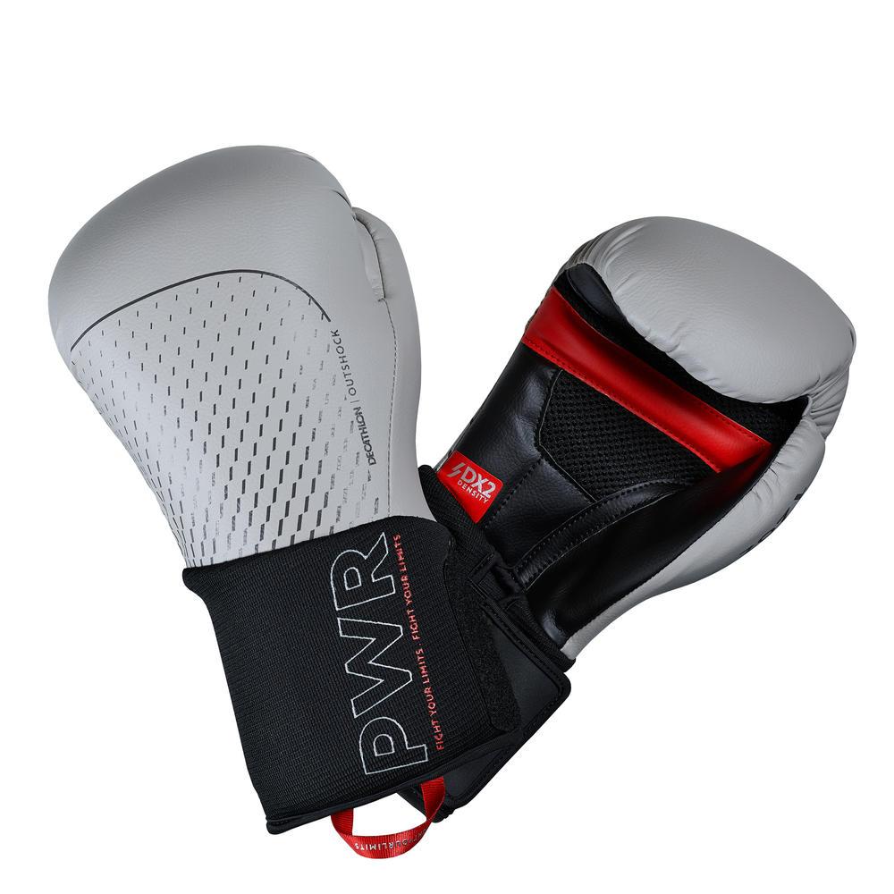 5ff19d4f1 Luvas de Boxe e Muay Thai BG500 - Cinza. Luvas de Boxe e Muay Thai ...
