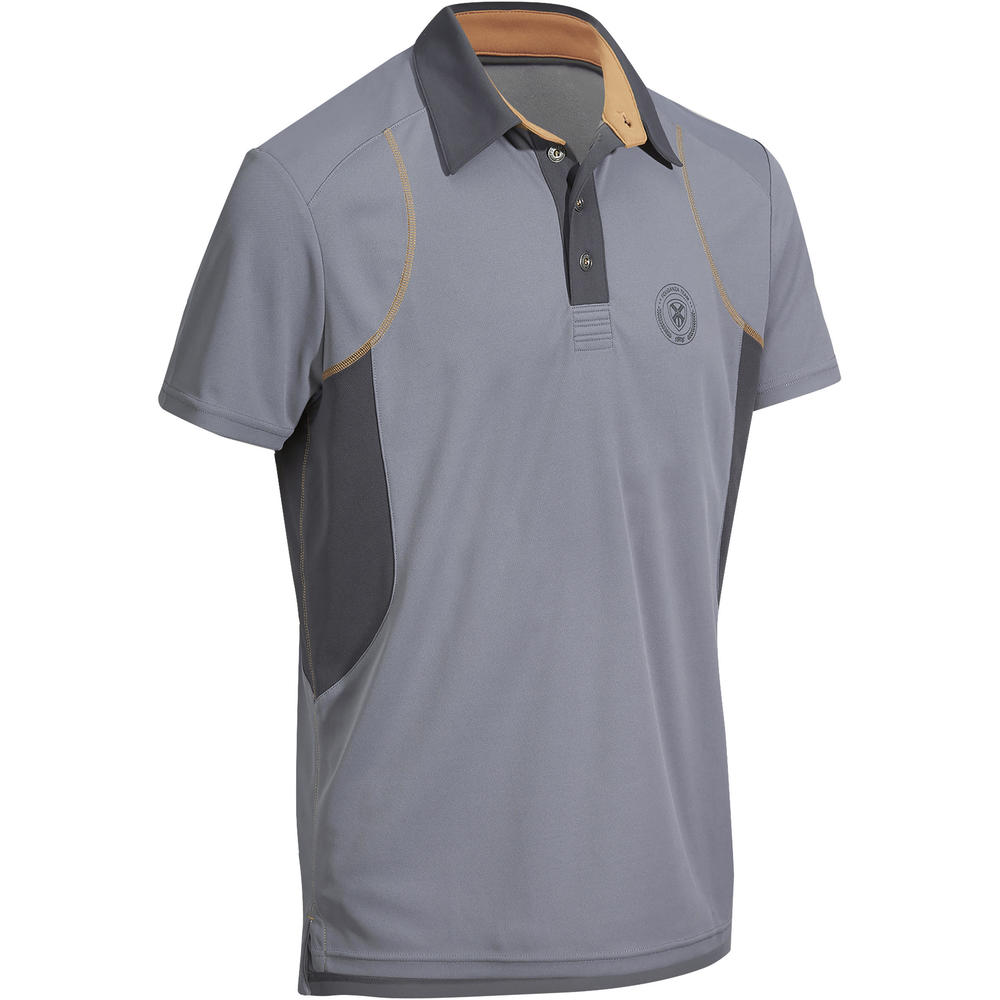 a5b02ad63 Camisa Polo de Manga Curta Hipismo masculina PL500 MESH - Decathlon