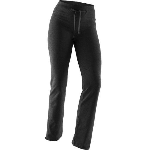 e40e220df Calça legging feminina regular de Pilates Confort+ 500 - Decathlon