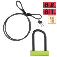 2e31751c8f4ab Cadeado de corrente para bicicleta - Decathlon