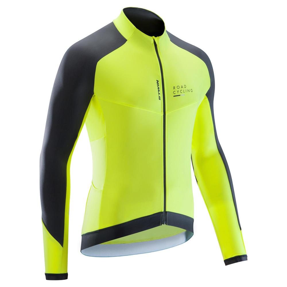b746510d24 Camisa de manga longa masculina para ciclismo RC500 - ROADC 900 M JERSEY  FLY