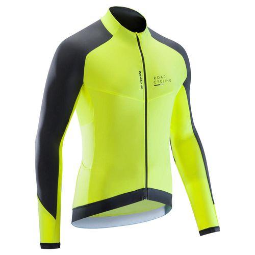 01f849197 Camisa de manga longa masculina para ciclismo RC500 - ROADC 900 M JERSEY  FLY