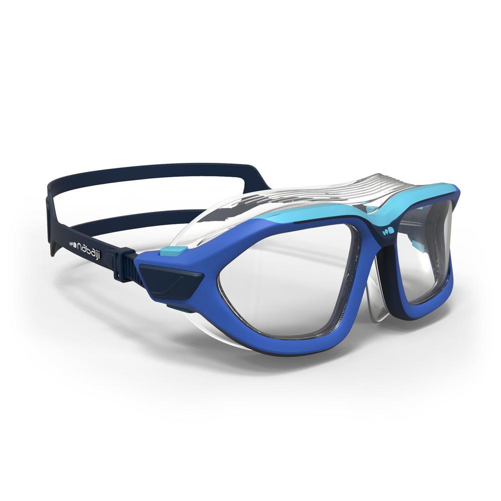 0ddcc95bd Máscara de natação Active tamanho pequeno Nabaiji - MASK 500 ACTIVE S BLUE  CLEAR***, S. Máscara de natação Active tamanho pequeno Nabaiji
