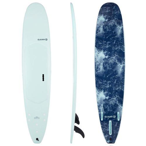 2a6ebdf12 Prancha de Surf em espuma 9 0 900. Vendida com 2 +1 quilhas. - SURFBOARD  900 SOFT 9