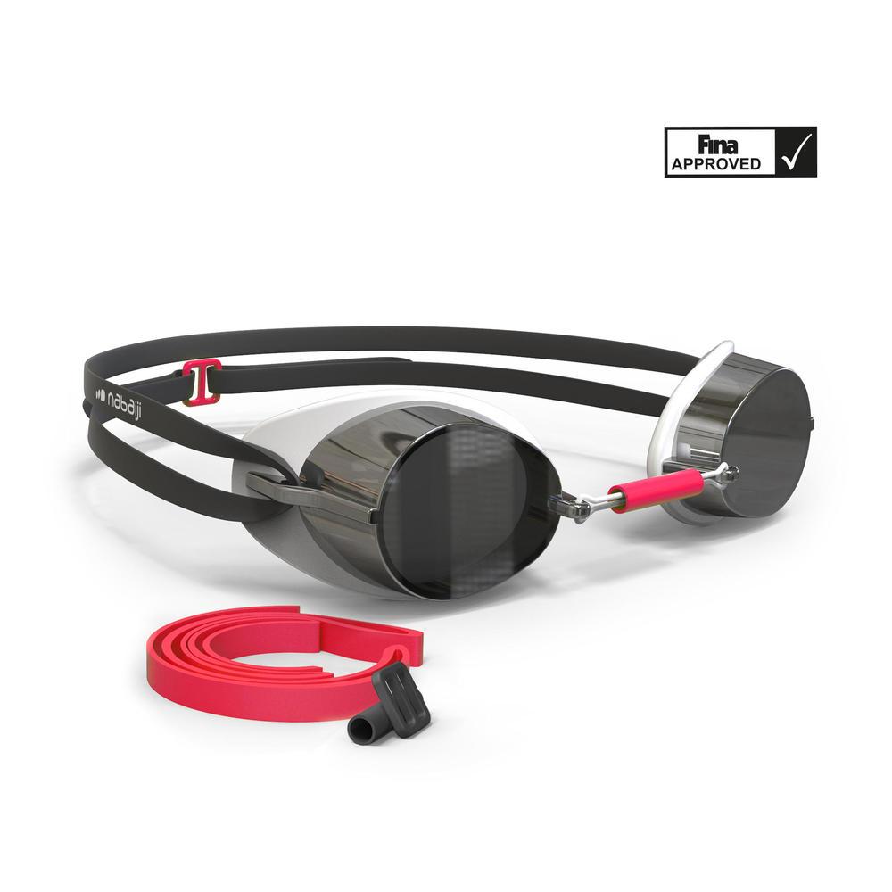 7d340cf80 Óculos de natação suecos - GOGGLES 900 SWEDISH MIRROR RED W