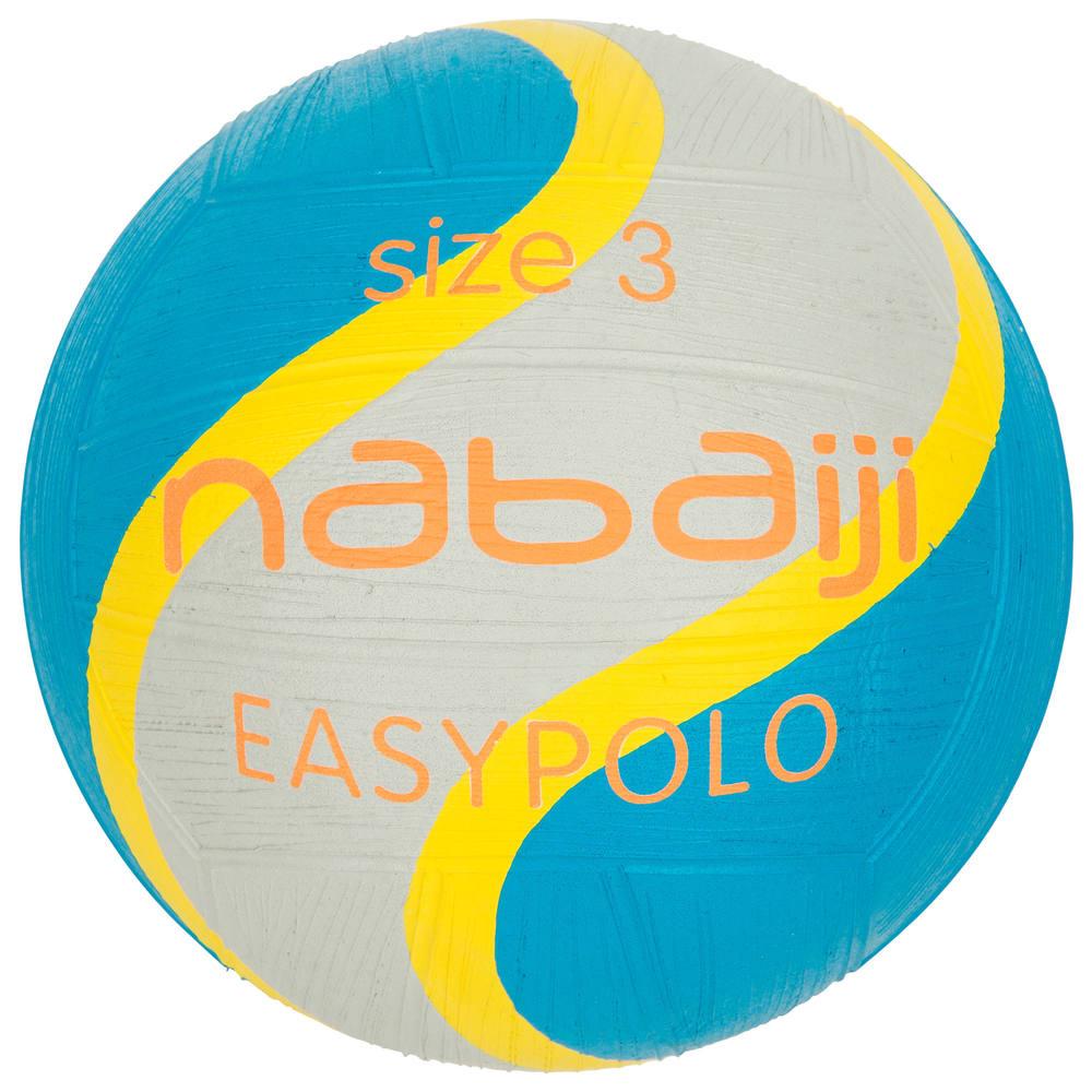 444638a9e5 Bola de polo aquático easypolo tamanho 3 nabaiji - decathlonstore