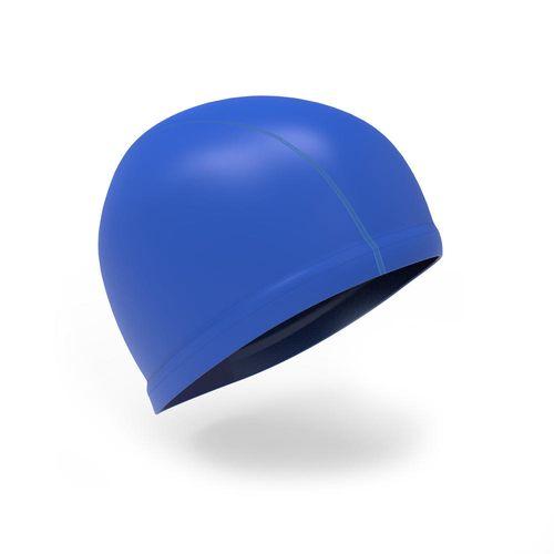 Touca de natação em malha revestida em silicone infantil Nabaiji - SILIMESH 500 L SOLID DARK BLUE ***, L