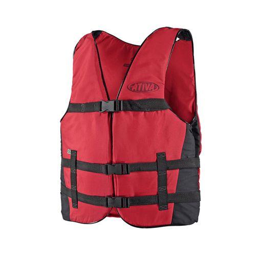 4bb7db8c0 Colete salva-vidas ativa canoa 100 kg -  COLETE ATIVA CANOA 100 KG VERM
