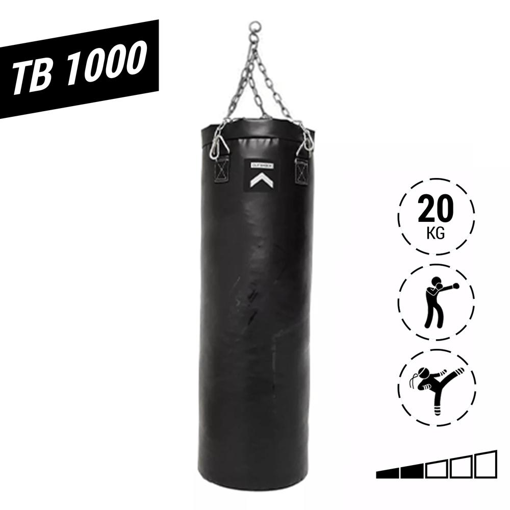 16411cf38 Saco de Pancada Boxe Muay Thai Kick Boxing Adulto 20kg - TB 1000 ...