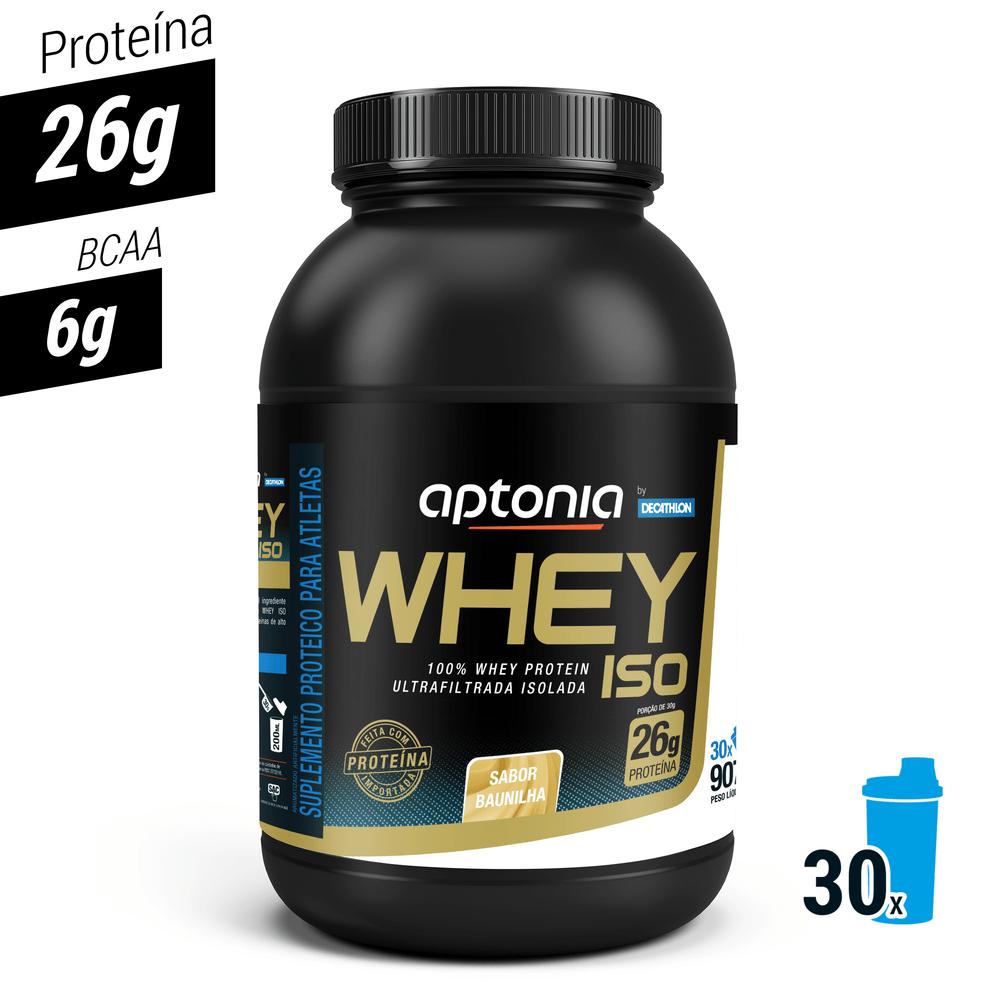 1427c65d7 Whey Protein Isolado WPI - Iso Baunilha 900g 30 doses - Proteina ...
