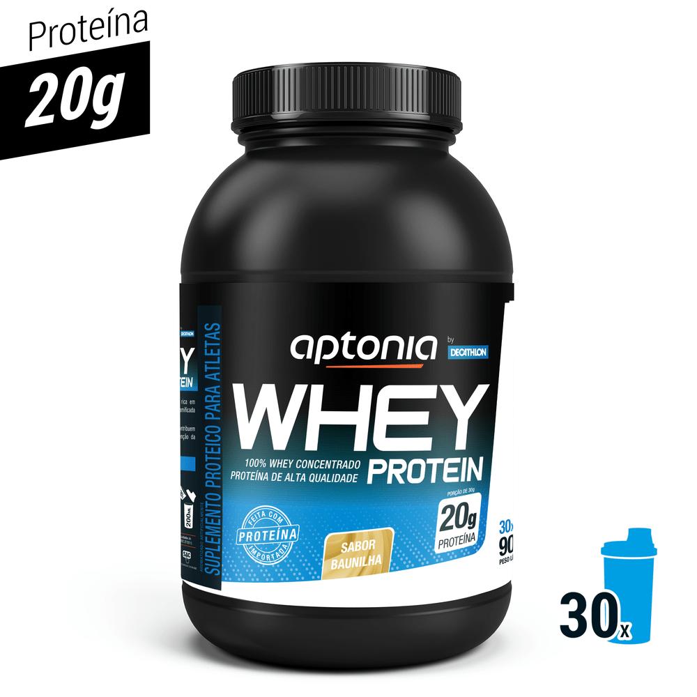 3c7608a94 Whey Protein Concentrado WPC Baunilha 900g 30 doses - Proteina ...