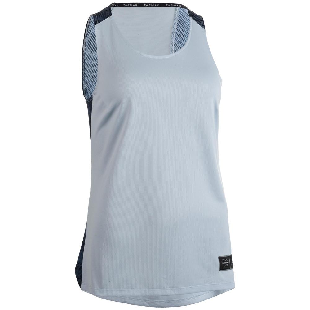 3e1a7d752 Camiseta basquete T500 feminina. Camiseta basquete T500 feminina