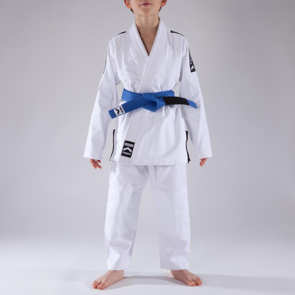 fbdf605ee Kimono Infantil Jiu Jitsu Branco - Modelo First. Kimono Infantil Jiu Jitsu  ...