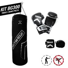 kit-boxe-bg300-preta-tb850-bandagem-preta