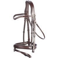 bridle-580-strass-horse-brown-cs1