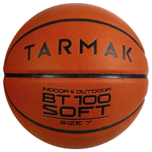 Bola de Basquete BT100 Soft T7 - Bola basquete BT100 T7