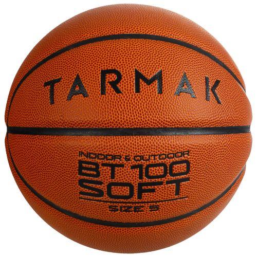 Bola de Basquete BT100 Soft T5 - Bola basquete BT100 T5