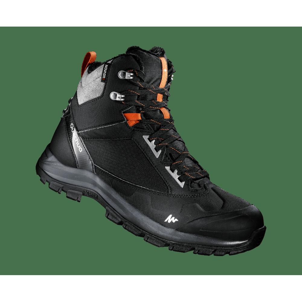 b19741c0566e7 Bota masculina de trilha na neve impermeável SH500. Bota masculina de trilha  na neve impermeável SH500