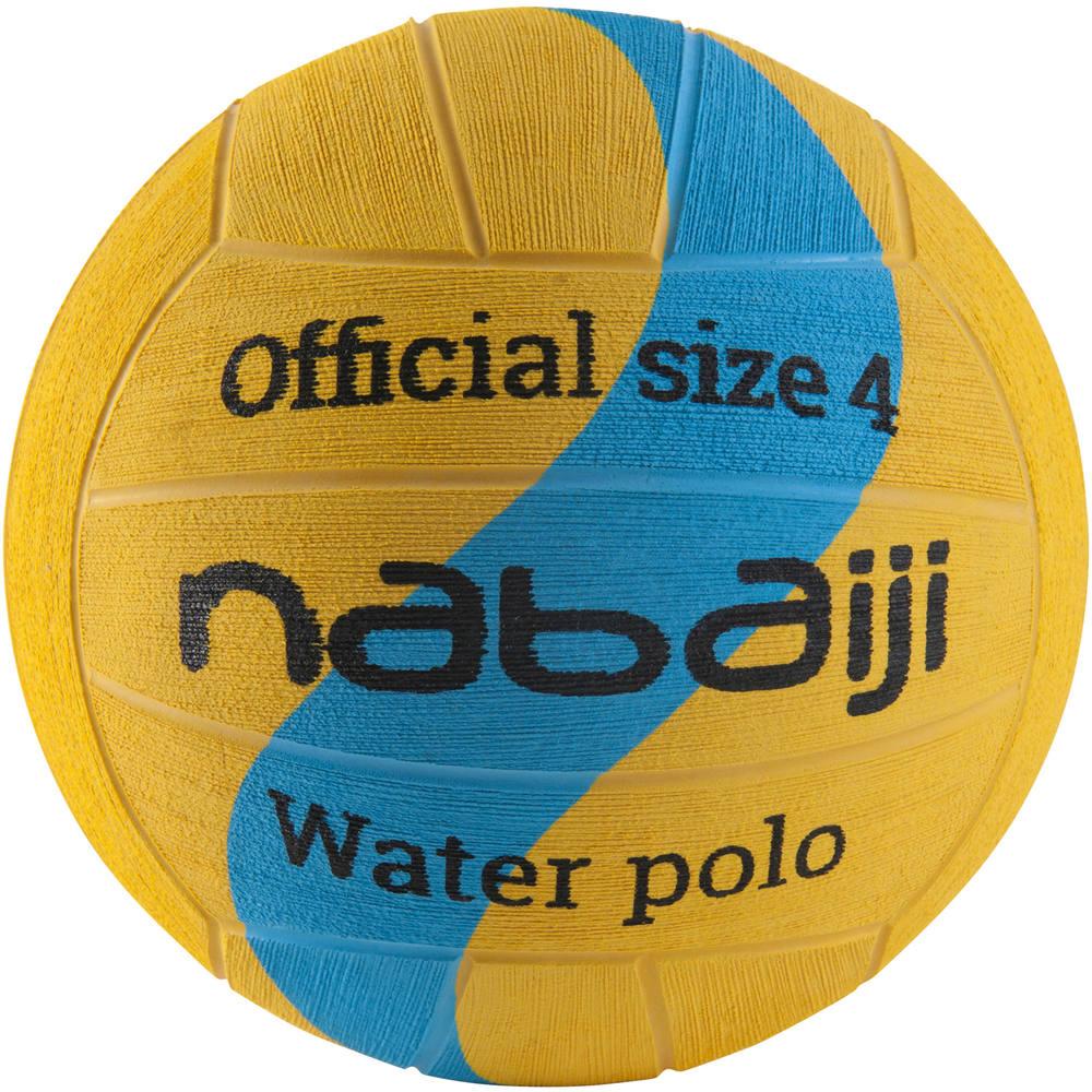 c2489aa59 Bola de polo aquático tamanho 4 nabaiji - WATERPOLO BALL T4 YELL BLUE